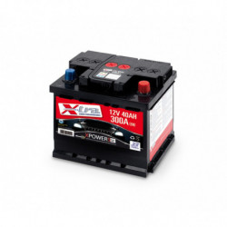 Batteria Auto - Accumulatore 12V 40 AH X-TRA pronta all'uso