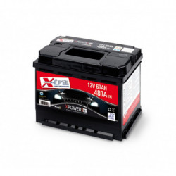Batteria Auto - Accumulatore 12V 60 AH X-TRA pronta all'uso