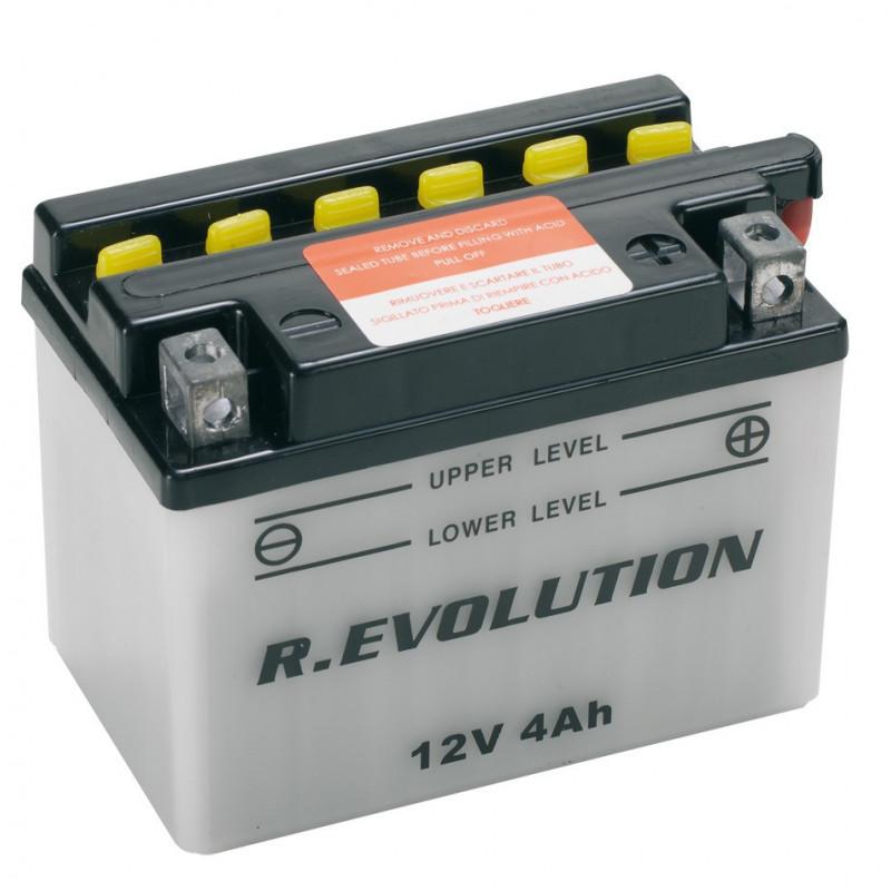 """Batteria Specifica per Moto """"POWER"""" 12V 4Ah"""