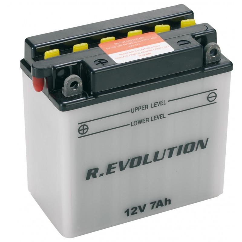 """Batteria Specifica per Moto """"POWER"""" 12V 7Ah"""