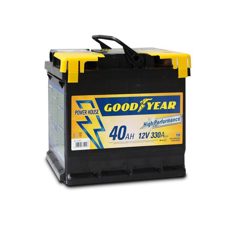 Batteria auto - Accumulatore 12V 40 AH GOODYEAR