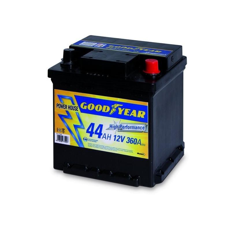 Batteria auto - Accumulatore 12V 44 AH Goodyear