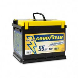 Batteria auto - Accumulatore 12V 55 AH GOODYEAR