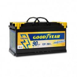Batteria auto - Accumulatore 12V 90 AH GOODYEAR