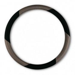 "Coprivolante ""MESH"" nero-grigio diametro 37-39 CM"