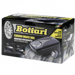 "Bracciolo portaoggetti multiuso ""CARBON MAGIC BOX"""