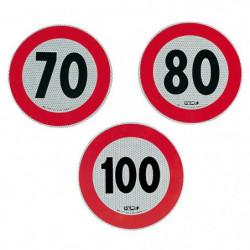 Adesivo velocità omologato 80