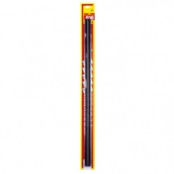 ricambio spazzole tergicristallo Refill con gomma grafitata 610 mm