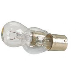 Coppia Lampade auto a 1 luce per segnalatori frecce 12V BA15S 21W