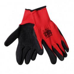1 Paio di guanti da lavoro in nylon e nitrile