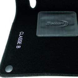 Set tappeti auto su misura in moquette per Mercedes Classe B produzione dal 2011 ad oggi.