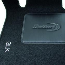Set tappeti auto su misura in moquette per Mercedes Classe GLK.