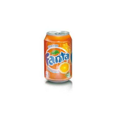 Aranciata Fanta - 24 lattine