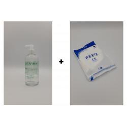 Kit mascherine FFP2 +...