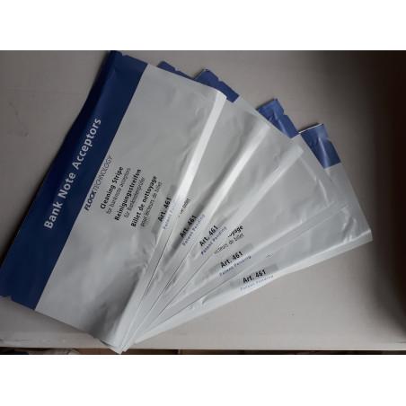 Accettatori banconote - kit 5 tessere per pulizia
