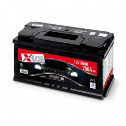 Batteria Auto - Accumulatore 12V 90 AH X-TRA