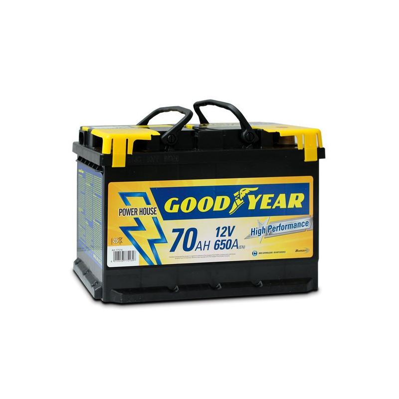 Batteria auto - Accumulatore 12V 70 AH GOODYEAR