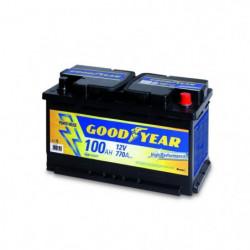 Batteria auto - Accumulatore 12V 100AH Goodyear