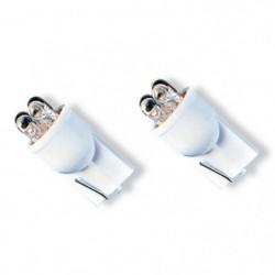 Luci led bianco CHARM 4 led per lampada - Coppia