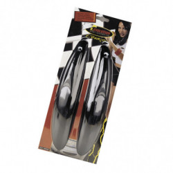 15510 - Salvaurti adesivi R.BUMPER nero 2 Pz
