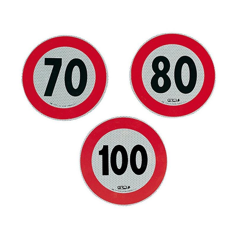 Art. 18402 - Adesivo velocità omologato 70 km orari