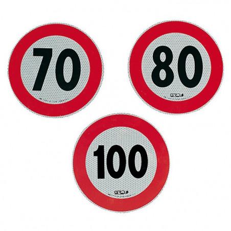 Adesivo velocità omologato 70 km orari