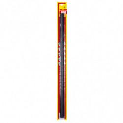Refill spazzole tergicristallo con gomma grafitata 700 mm