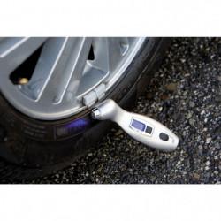 Misuratore pressione pneumatici universale con manometro digitale PNEUS