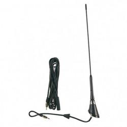 Antenna radio per auto a 45 gradi in Fiberglass 40 cm