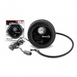 Compressore portatile da auto con manometro WHEEL 260 PSI.