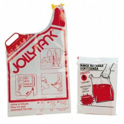 """Tanica tascabile di Emergenza morbida """"JOLLY TANK"""" 8 litri Confezionata"""