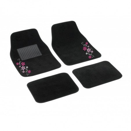 "SET 4 TAPPETI IN MOQUETTE ""MY STAR"" - ROSA"