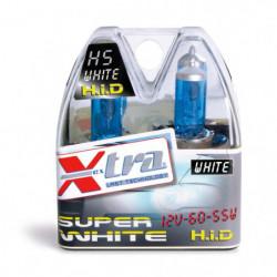 Set 2 pz lampade super white 12V H5 60/55 W X-TRA