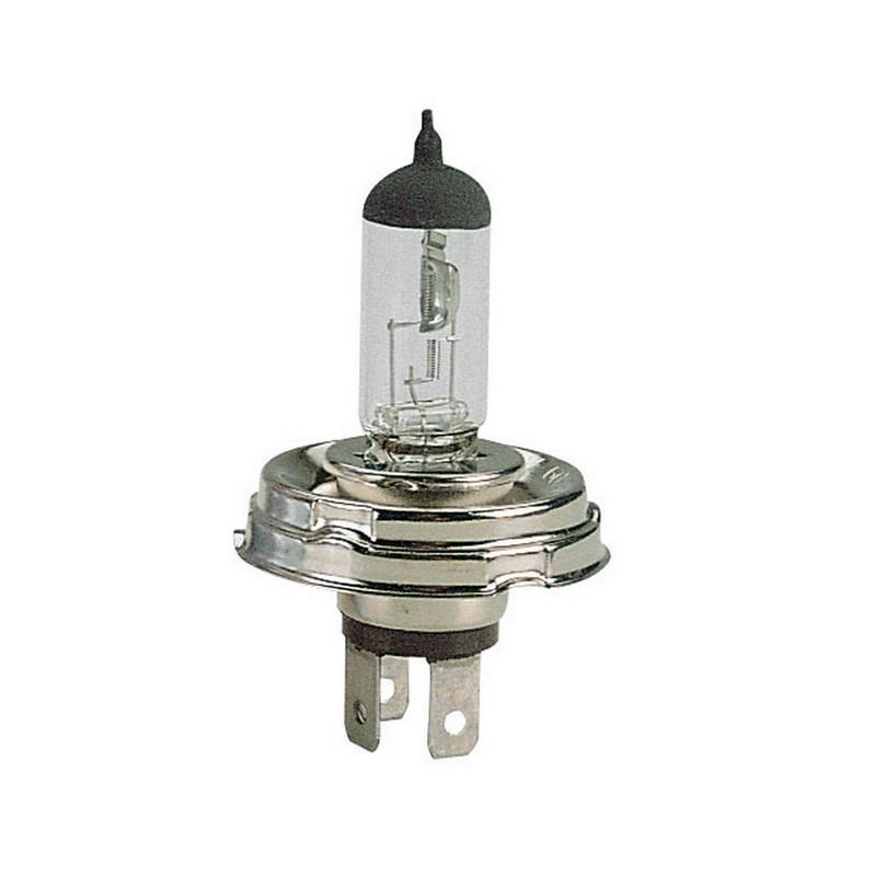 Lampada alogena 12V H5 60/55 W P45t +30% Luminosità