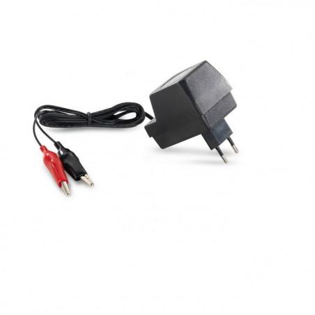 Mantenitore di Carica per Batterie 500mA 230V AC 6V-12V DC