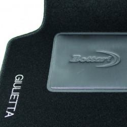 Set tappeti auto su misura in moquette per Alfa Romeo Modello Giulietta.