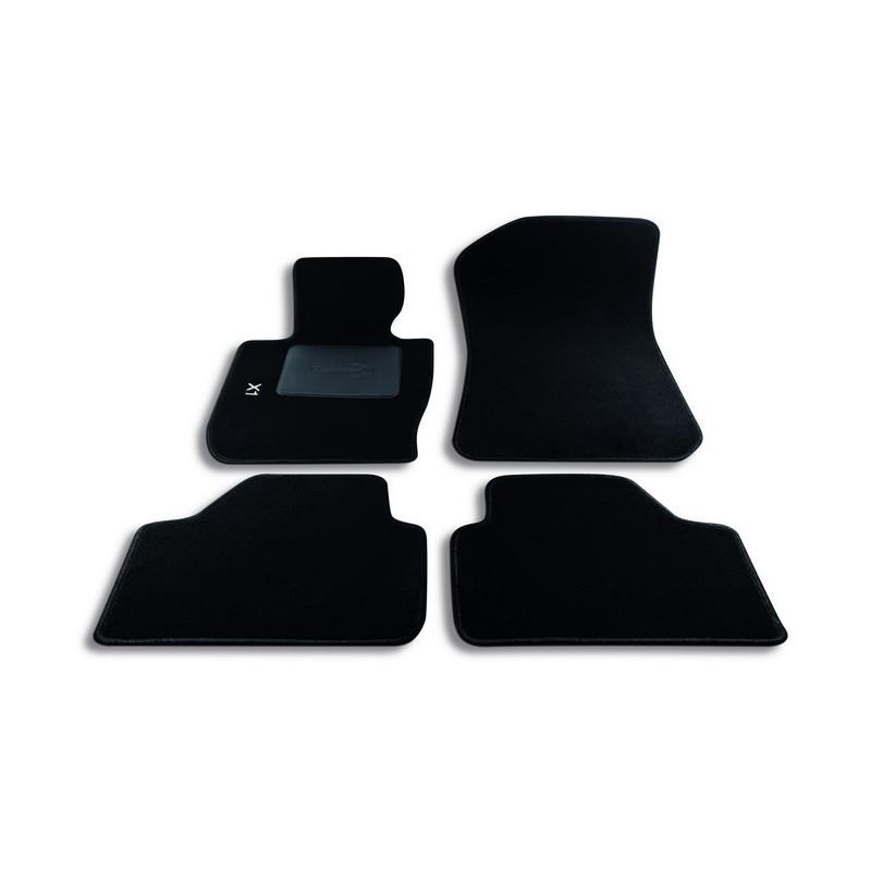 Set tappeti auto su misura in moquette per BMW serie X1 (2009-2015)