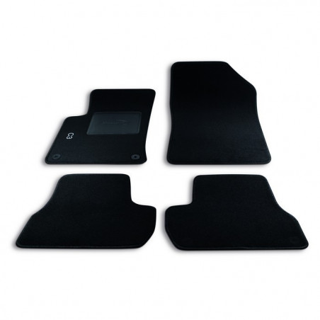 Set tappeti in moquette per Citroen C3 (2009-2016)