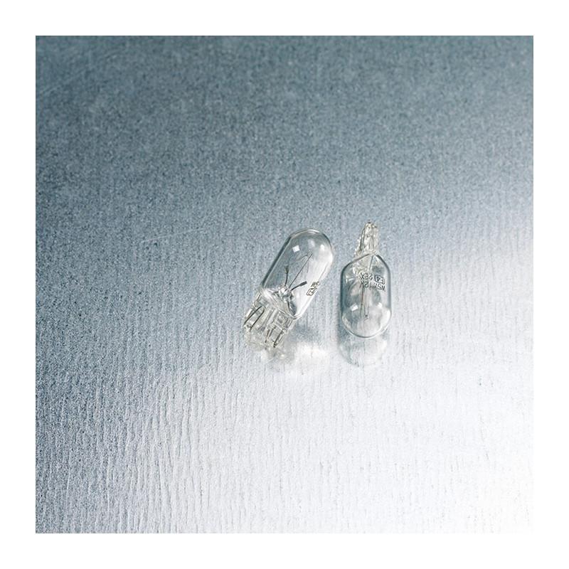 Lampadina ricambio moto bianco T10 12V-5W
