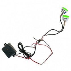 """Luci LED Stroboscopiche """"SPYCO"""" per moto 2 pezzi BLU"""