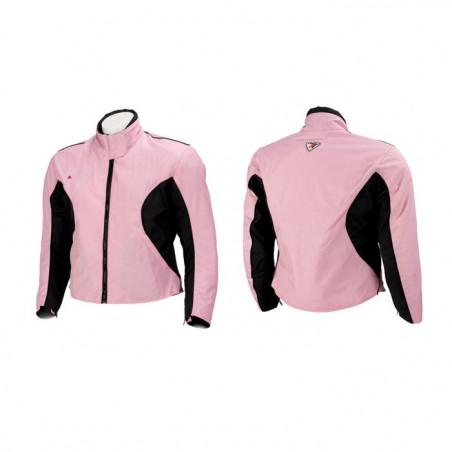 Giacca moto Liberty, rosa, taglia XS