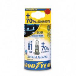 Lampada Alogena H1 12V 55W + 70% Luminosità