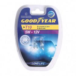 Lampadine auto Goodyear MICRO per indicatori 12V T10 5W - Coppia
