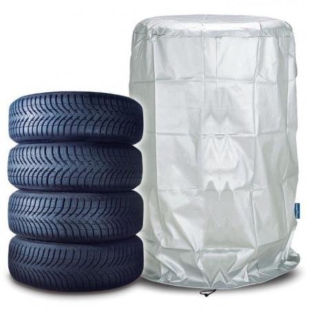 Telo Copri Pneumatici Goodyear Protector copertura singola per 4 pneumatici