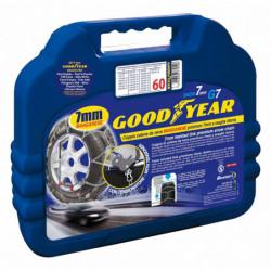"""Catene da neve Goodyear premium 7 mm """"G7"""" a maglia ritorta mis. 80 - Coppia"""
