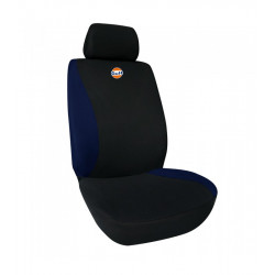 Fodera sedile singola Nero-Blu