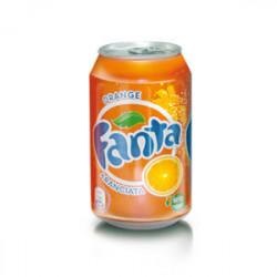 24 lattine Aranciata Fanta