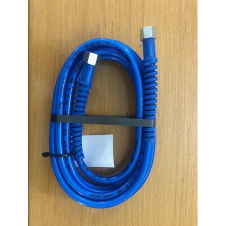"""Tubo blu Comfort L. 5,00 - Termoplastica R1 200 Bar att. 3/8"""" F"""