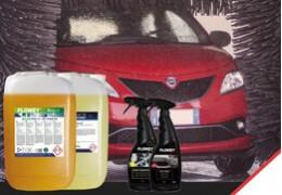 Prodotti chimici per autolavaggio, prova a cambiare